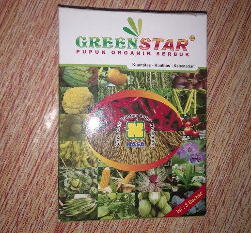 penggunaan greenstar nasa
