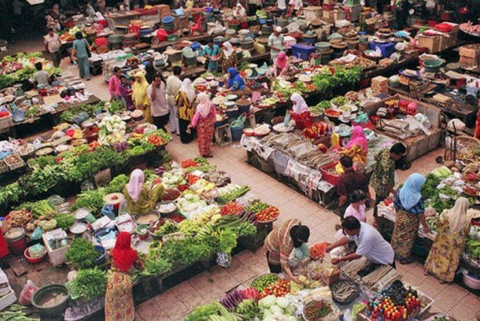 pasar pertanian yang luas